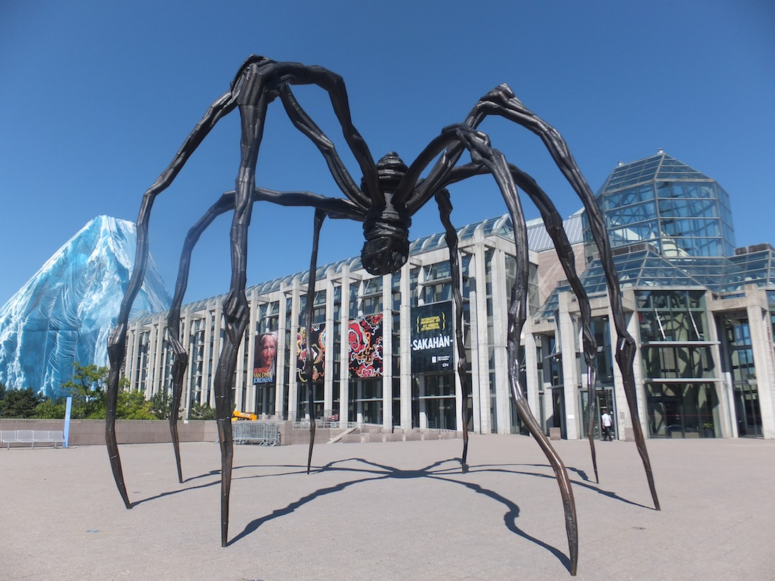 Maman, by Louise Bourgeois. The National Gallery of Canada greeter