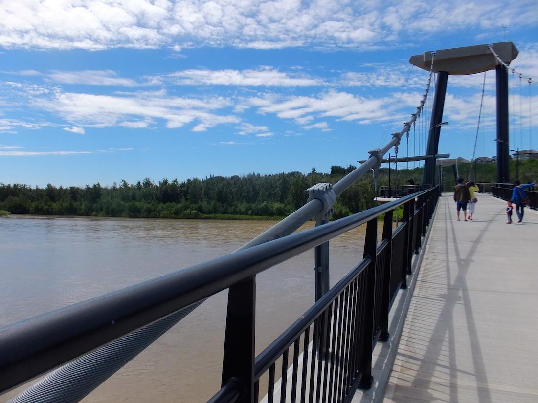Fort Edm footbridge