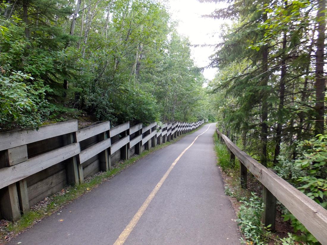 Heading into Mill Creek Ravine