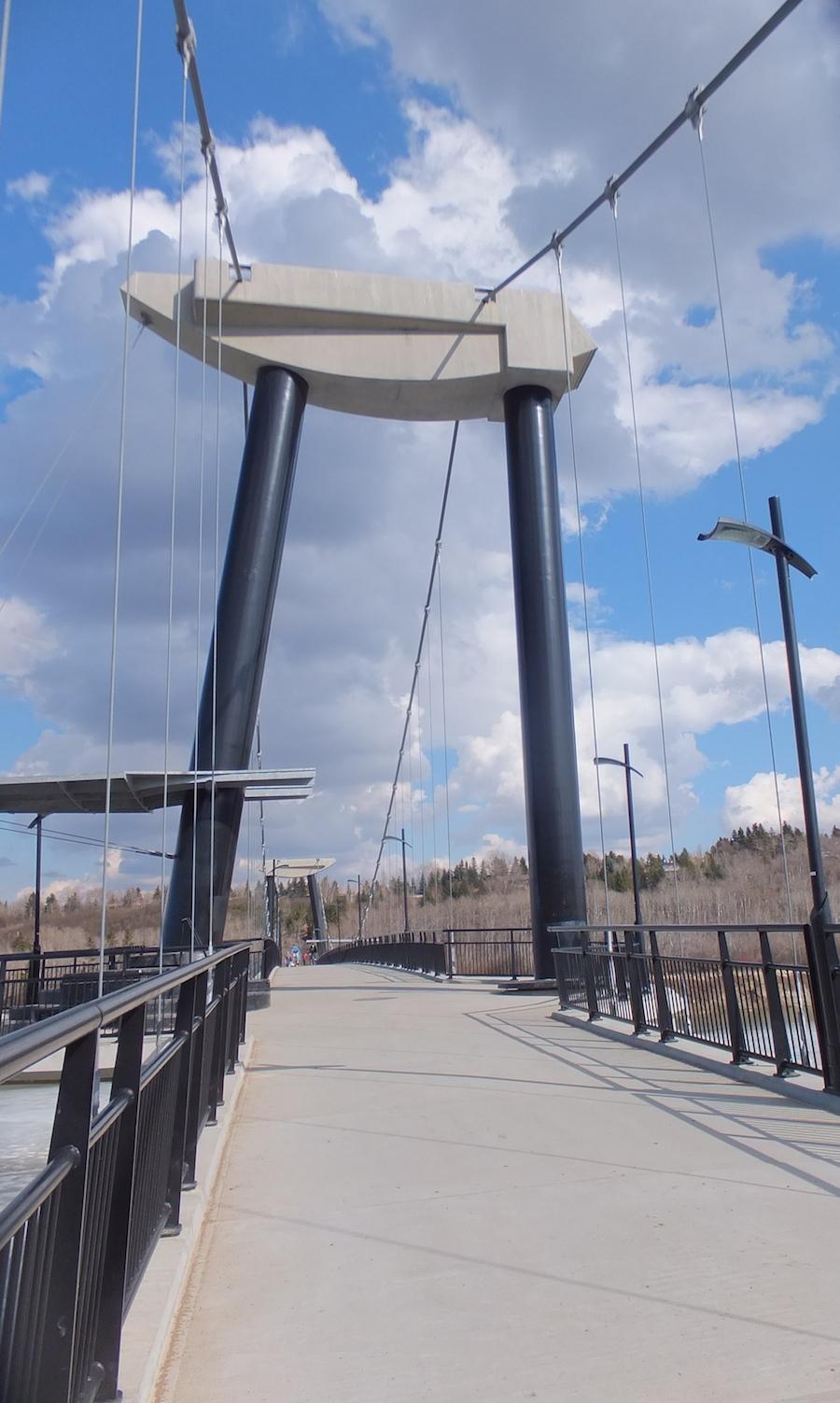 Footbridge up close