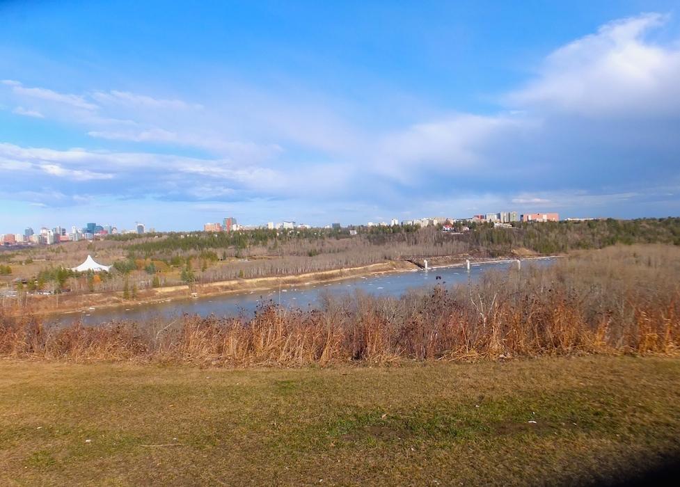 River valley towards Valleyview