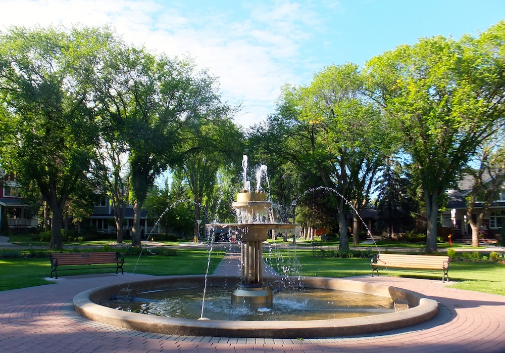 Glenora fountain