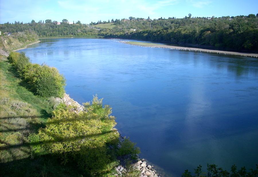 River blue...